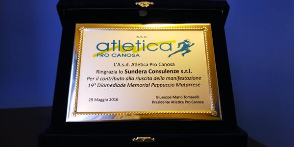 A Canosa Sundera sponsor technology nella 19^ Diomediade